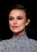 Keira Knightley wearing Chanel at 62nd BFI London Film Festival Colette by Wash Westmoreland Red Carpet & Afterparty (photo by Tim P. Whitby)