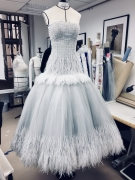 enelope Cruz Work-in-progress of the Haute Couture custom made dress at the 31 Cambon Haute Couture Atelier