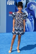 Yara Shahidi wearing Chanel at  Smallfoot Premiere September (photo by Axelle/Bauer-Griffin)