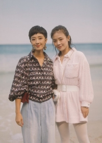 Gwei Lun-mei and Sandra Ma Chanel Spring Summer 2019 Ready to Wear Collection (© 2018 CHANEL - LEGAL STATEMENT)