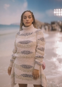 Jorja Smith Chanel Spring Summer 2019 Ready to Wear Collection (© 2018 CHANEL - LEGAL STATEMENT)