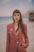 Astrid Bergès-Frisbey Chanel Spring Summer 2019 Ready to Wear Collection (© 2018 CHANEL - LEGAL STATEMENT)