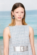 Mia Goth Chanel Spring Summer 2019 Ready to Wear Collection (© 2018 CHANEL - LEGAL STATEMENT)