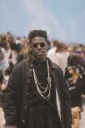 Moses Sumney Chanel Spring Summer 2019 Ready to Wear Collection (© 2018 CHANEL - LEGAL STATEMENT)