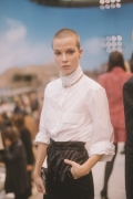 Sylvia Hoeks Chanel Spring Summer 2019 Ready to Wear Collection (© 2018 CHANEL - LEGAL STATEMENT)