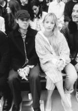 Orelsan with Angele . Chanel : Photocall - Paris Fashion Week - Womenswear Spring Summer 2020