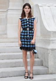 Daisy Edgar Jones wore Chanel at Chanel Haute Couture Fall Winter 2021/22