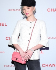 Pom Klementieff We Love Coco Event (ph. By Zack Whitford/BFA.com)