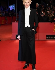 Tilda Swinton  in Chanel . Premiere of Isle of dogs_68th Berlin International Film Festival (ph. by Pascal Le Segretain)