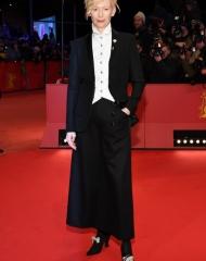 Tilda Swinton  in Chanel . Premiere of Isle of dogs_68th Berlin International Film Festival (ph. by Pascal Le Segretain)