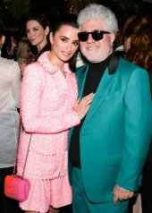 Penélope Cruz and Pedro Almodovar in Chanel and Charles Finch 12th Annual Pre-Oscar Awards Dinner