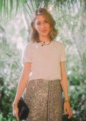 Sofia Coppola in Chanel and Charles Finch 12th Annual Pre-Oscar Awards Dinner