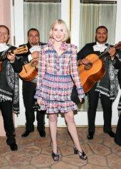 Lucy Boynton in Chanel
