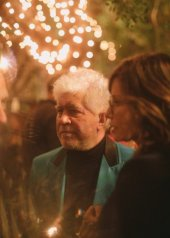 Pedro Almodovar & Gina Gersh Chanel at the 92nd Academy Awards in Los Angeles