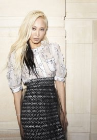 Soo Joo Park wore Chanel at Chanel Haute Couture Fall Winter 2021/22 - photo by Benoit Peverell