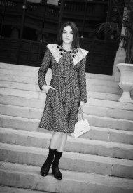 Zoé Adjani Chanel at Chanel Haute Couture Fall Winter 2021/22