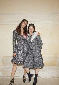 Lyna Khoudri and Karidja Toure Chanel Haute Couture Fall Winter 2021/22 - photo by Benoit Peverell