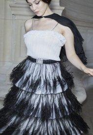 Anamaria Vartolomei at Chanel Haute Couture Fall Winter 2021/22