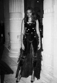 Karidja Toure at Chanel Haute Couture Fall Winter 2021/22