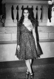 Iman Perez at Chanel Haute Couture Fall Winter 2021/22