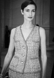 Louise De Chevigny at Chanel Haute Couture Fall Winter 2021/22