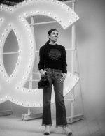 Blanca Li in Chanel at Chanel Spring Summer 2021 catwalk