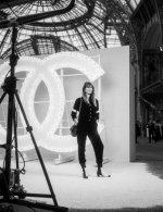 Caroline De Maigret in Chanel special guests at Chanel Spring Summer 2021 catwalk