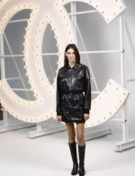 Charlotte Cardin in Chanel special guests at Chanel Spring Summer 2021 catwalk