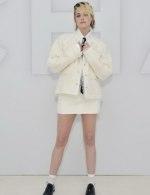 Kristen Stewart wore Chanel special guests at Chanel Spring Summer 2021 catwalk