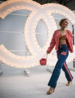 Lily Rose-depp special guests at Chanel Spring Summer 2021 catwalk