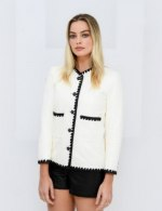 Margot Robbie in Chanel special guests at Chanel Spring Summer 2021 catwalk