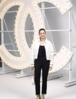 Marion Cotillard in Chanel special guests at Chanel Spring Summer 2021 catwalk