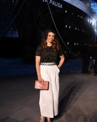 Amandine Richard Chanel 2018-19 Cruise Collectionin Paris .  ph by  Pascal Le Segretain