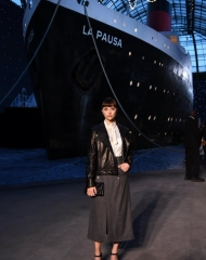 Anastasia Shevtsova guests Chanel Cruise 2018 in Paris  . ph by Pascal Le Segretain