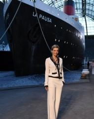 Céline Sallette Chanel Cruise 2018 in Paris  . ph by Pascal Le Segretain