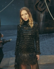 Christa Theret Chanel Cruise 2018 in Paris  .