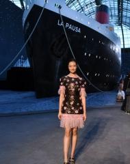 Chutimon Chuengcharoensukying Chanel Cruise 2018 in Paris  . ph by Pascal Le Segretain