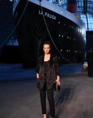 Diane Rouxel Chanel Cruise 2018 in Paris  . ph by Pascal Le Segretain