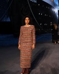 Golshifteh Farahani Chanel 2018-19 Cruise Collectionin Paris .  ph by Pascal Le Segretain