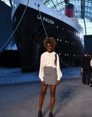 Karidja Touré 2018 Chanel 2018-19 Cruise Collectionin Paris .