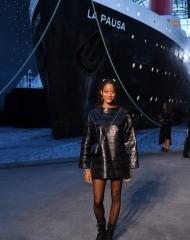 Kilo Kish Chanel 2018-19 Cruise Collectionin Paris . ph by Pascal Le Segretain