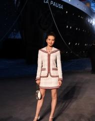 Liu Shishi Chanel 2018-19 Cruise Collectionin Paris . ph by Pascal Le Segretain