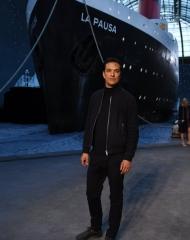 Malik Djoudi Chanel 2018-19 Cruise Collectionin Paris . ph by Pascal Le Segretain