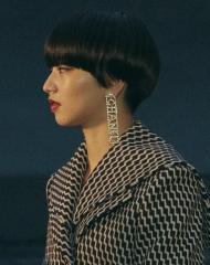Nana Komatsu Chanel 2018-19 Cruise Collectionin Paris . ph by Pascal Le Segretain