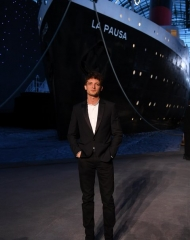 Niels Schneider, Anna Mouglalis Chanel 2018-19 Cruise Collectionin Paris . ph by Pascal Le Segretain