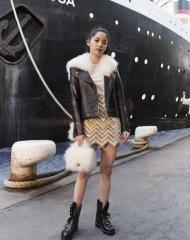 Nana Ou-Yang Chanel 2018-19 Cruise Collectionin Paris
