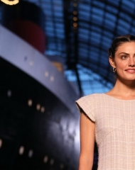 Phoebe Tonkin Chanel 2018-19 Cruise Collectionin Paris . ph by Anne Combaz