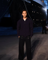 William Chen Chanel 2018-19 Cruise Collectionin Paris . ph by Pascal Le Segretain