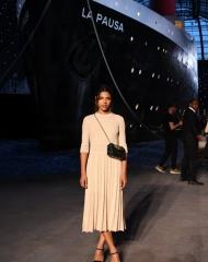 Zita Hanrot Chanel 2018-19 Cruise Collectionin Paris . ph by Pascal Le Segretain
