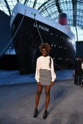 Karidja Touré 2018 Chanel 2018-19 Cruise Collectionin Paris .